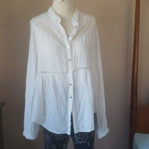 Free people classic button down
